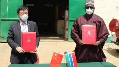 Photo of Gambia receives agricultural machinery, equipment and fertiliser from China