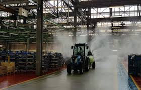 Photo of Sanitization for all Argo Tractors plants
