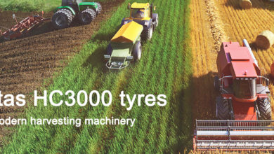 Photo of HC3000 tyres for the most modern harvesting machinery