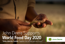 "Photo of ""Feeding the Nation & Hope Remains"" launched by John Deere Africa-Middle East in celebration for World Food Day."
